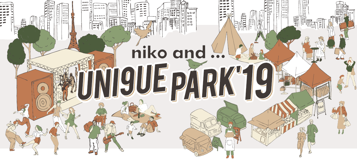 「niko and … UNI9UE PARK'19」にAwesome City Club、フレンズ、TOKYO CRITTERSの出演が決定!