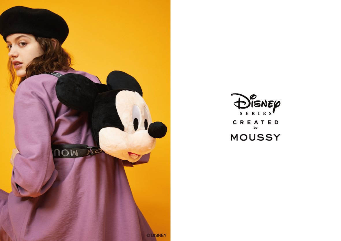 MOUSSYから「Disney SERIES CREATED by MOUSSY」2019 AUTUMN COLLECTION発売